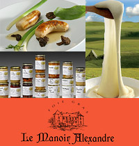 Conserves traditionelles du Manoir Alexandre